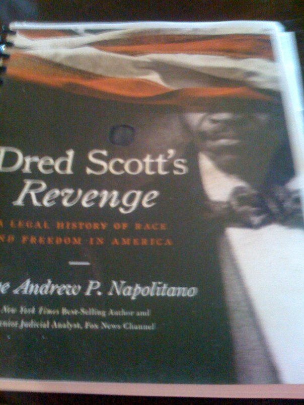 Dred Scott's Revenge manuscript